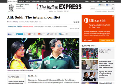 Alik Sukh was featured in The Indian Express.