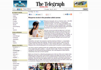 Alik Sukh was featured in The Telegraph.