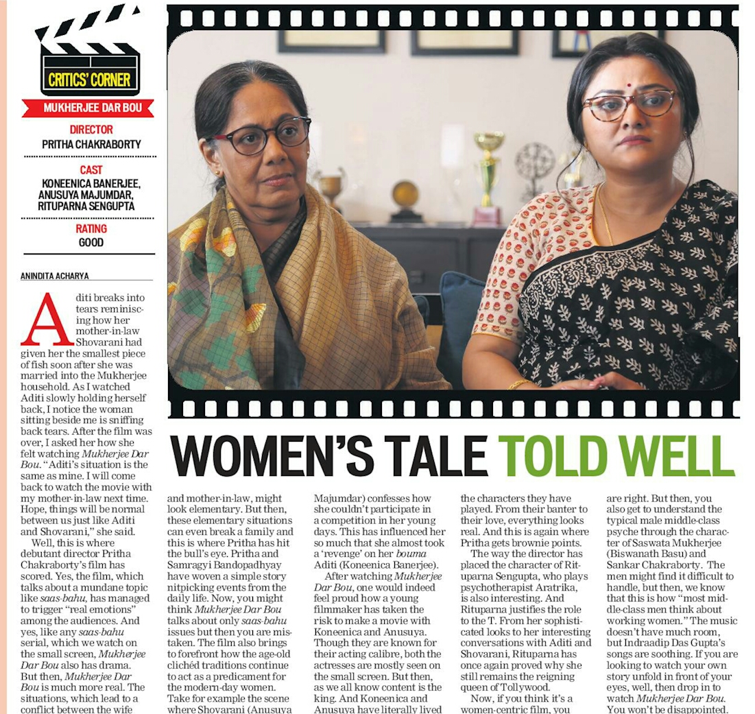 Eastern Chronicle : Women's Tale Told Well