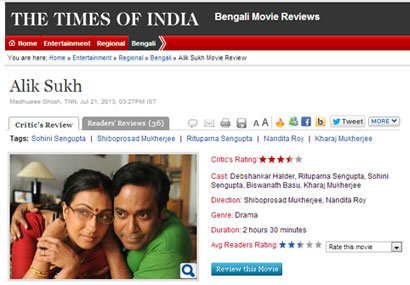 Alik Sukh was featured in The Times of India.