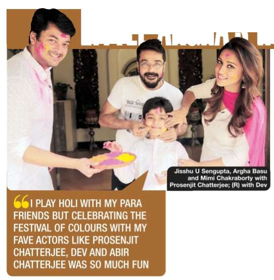 LITTLE ARGHA'S HOLI-DAY WITH THE STARS | TOI