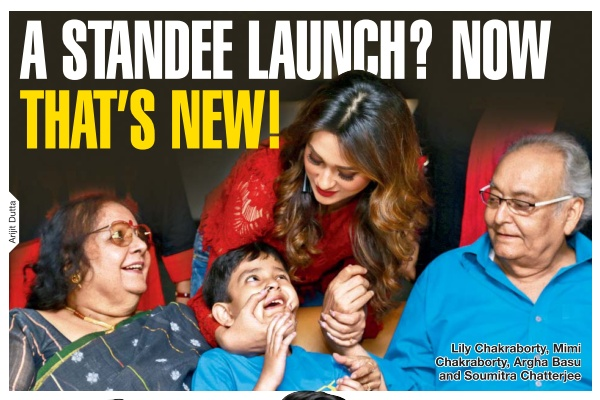 A STANDEE LAUNCH? NOW THAT'S NEW! | TOI