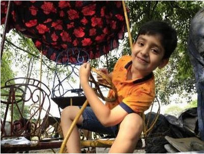Little Argha is blissfully unaware of his stardom | TOI